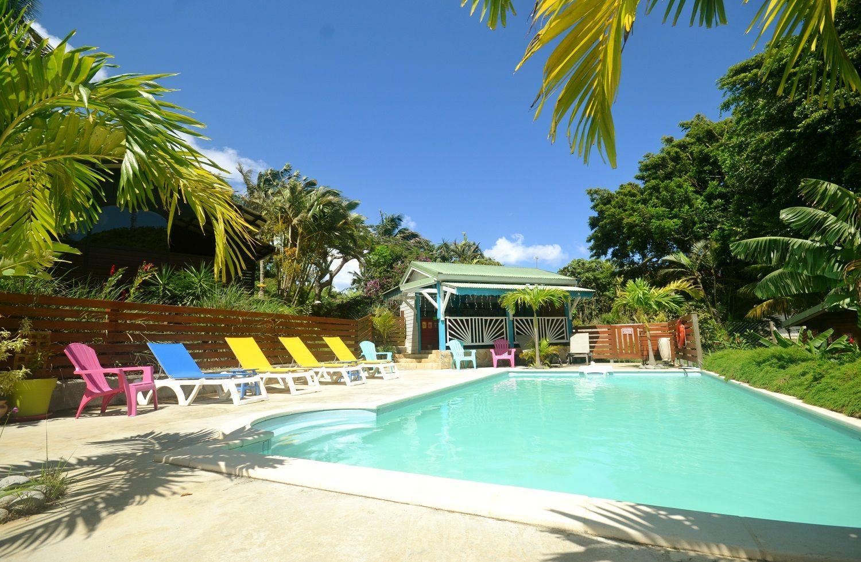 Piton bungalows location gite et bungalow deshaies vacances en guadeloupe - Cours de cuisine en guadeloupe ...