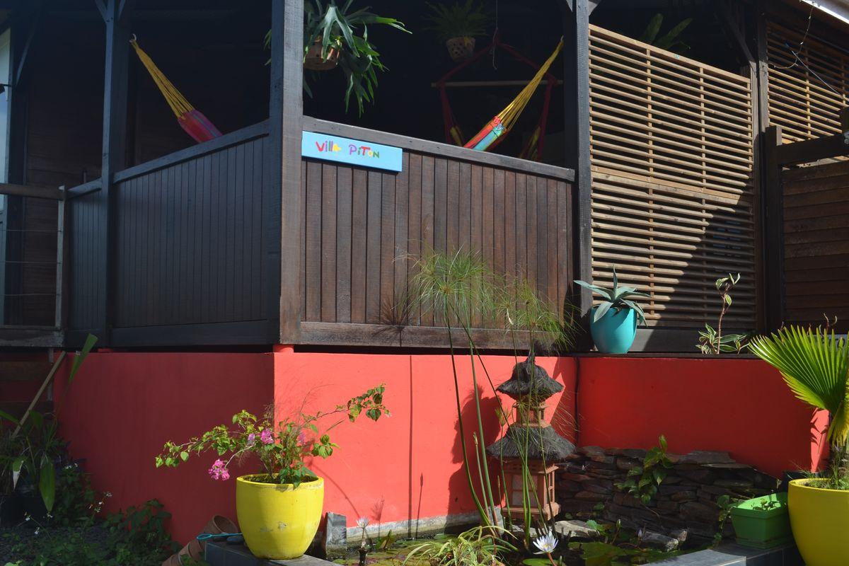 Rental Piton Villa In Deshaies Guadeloupe Piton Bungalows