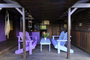 cabane bois deshaies