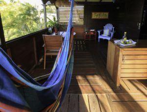 terrasse cabane insolite