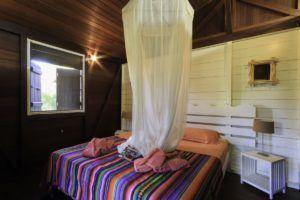 chambre cabane en bois