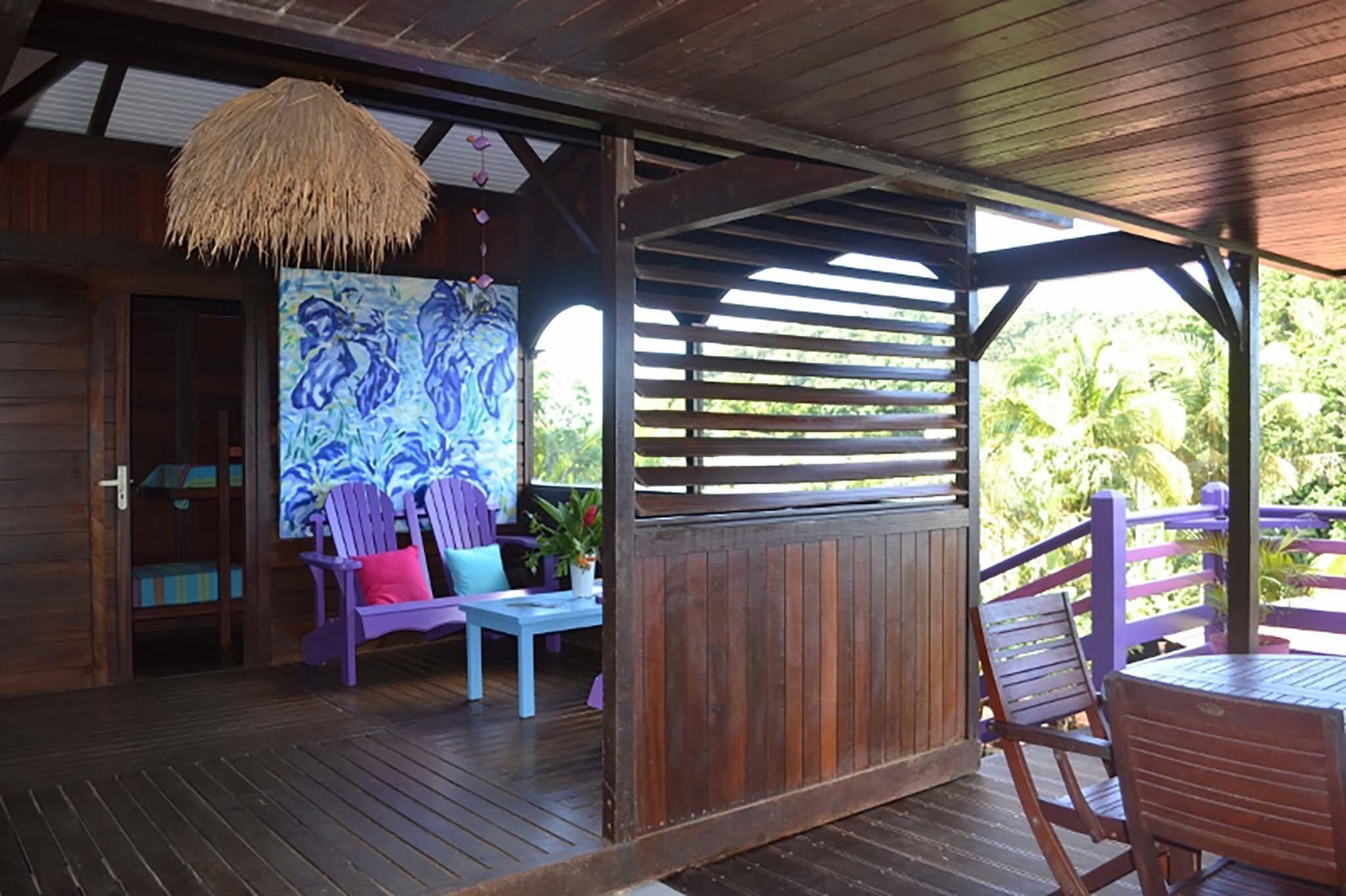 terrasse grand bungalow