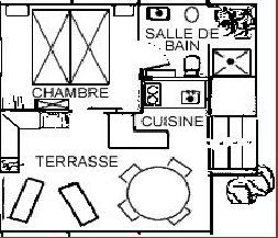 Plan de la cabane