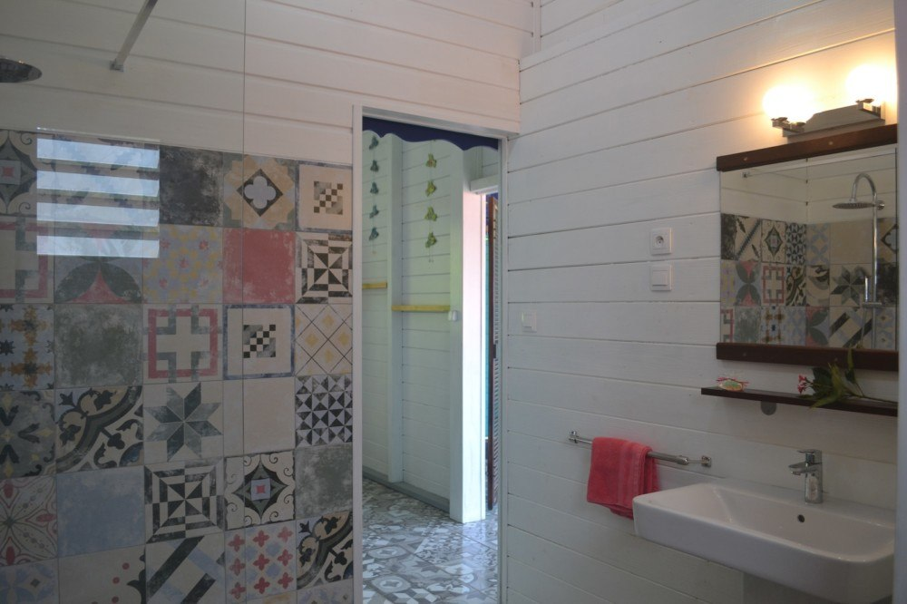 la salle de bains jolie