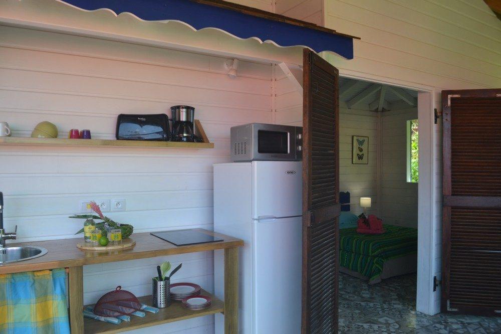 cuisine de la case en bois